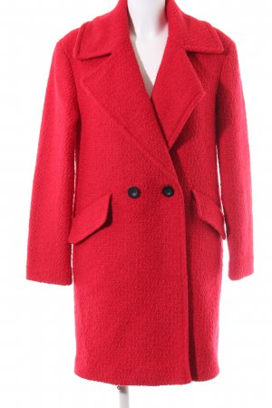 Esprit Wollmantel rot Business-Look