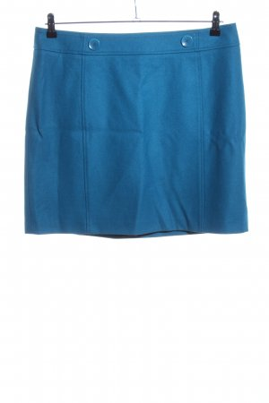 Esprit Wool Skirt blue casual look
