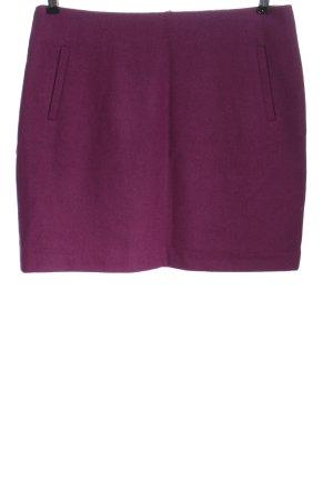 Esprit Falda de lana lila estilo «business»