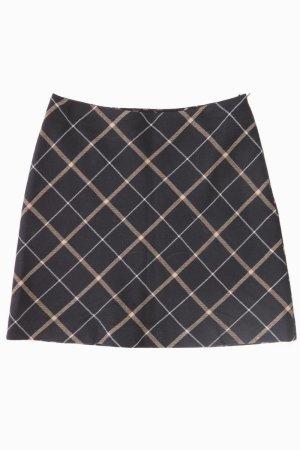 Esprit Wool Skirt black wool