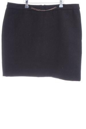 Esprit Falda de lana negro look casual