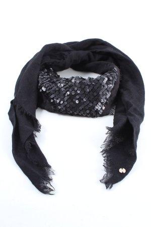 Esprit Bufanda de lana negro look casual
