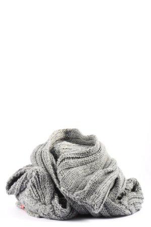 Esprit Bufanda de lana gris claro look casual