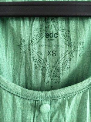 ESPRIT Women's Dress, EDC;  crinkle Kleidchen, Größe XS; grün
