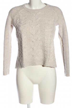 Esprit Cable Sweater natural white cable stitch casual look