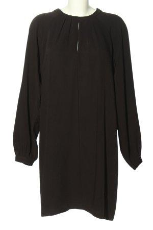 Esqualo A-Linien Kleid schwarz Casual-Look