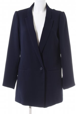 Esqualo Long-Blazer blau Business-Look