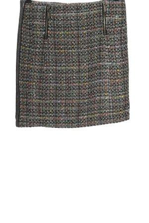 Esqualo Jupe en tweed motif abstrait élégant