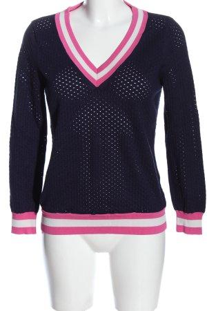 Esqualo V-Ausschnitt-Pullover
