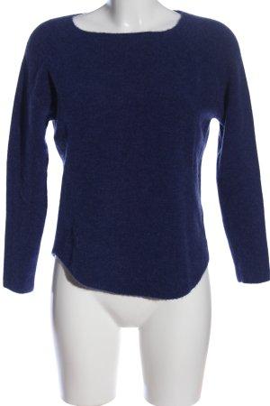 essential Rundhalspullover blau Casual-Look
