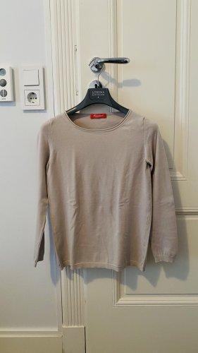 Stefanel Crewneck Sweater light grey-beige