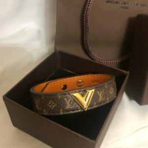Louis Vuitton Braccialetto sottile marrone