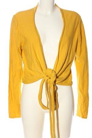 essential Cache-cœur en tricot orange clair style décontracté