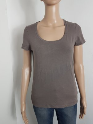 Essentials by Esprit Damen Shirt T-Shirt kurzarm khaki Größe M