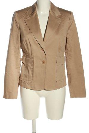 Essentials Long-Blazer braun Business-Look