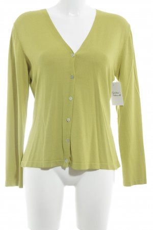 Essentials oui Cardigan limettengelb Casual-Look