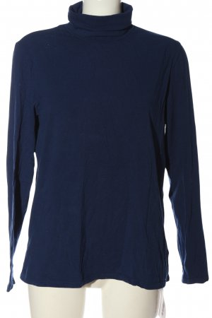 Essentials Rollkragenshirt blau Casual-Look