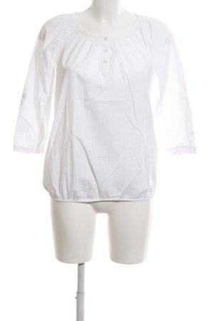 Essentials Schlupf-Bluse weiß Elegant