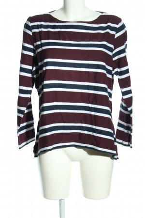 Essentials Sweatshirt Streifenmuster Casual-Look