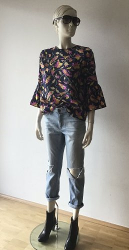 Essentiel Antwerp Blusa in seta multicolore Seta