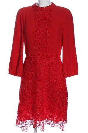 Essentiel Antwerp Langarmkleid rot Elegant