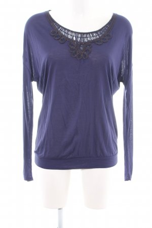 Essentiel Antwerp Longsleeve lila Casual-Look