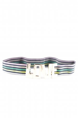 Essentiel Antwerp Fabric Belt printed lettering casual look