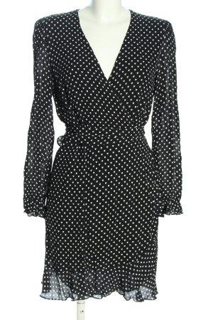 Essentiel Antwerp Wraparound black-white spot pattern casual look