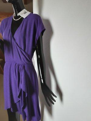 Essentiel Anwerp,  violettes Sommerkleid, Gr. 40