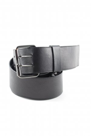 Essentiel Faux Leather Belt black casual look
