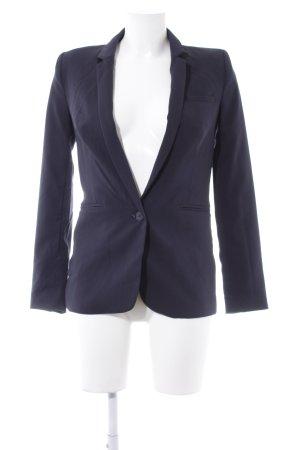 Essentiel Long-Blazer dunkelblau Business-Look