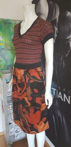 Essentiel Seiden cashmere Kleid  gefüttert small wie neu luxus im missoni  stil