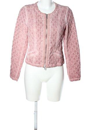 Estelle Jolie Kurzjacke pink Steppmuster Casual-Look
