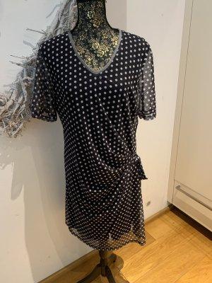 Estelle Jolie* tolles Kleid* Gr.46* Neu* blau mit Punkten