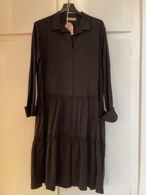 esvivid Robe chemise noir