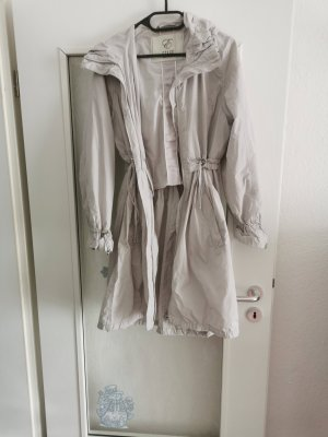 Etage Raincoat light grey mixture fibre
