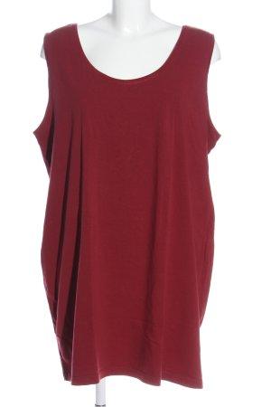 Etam Top basic rosso stile casual