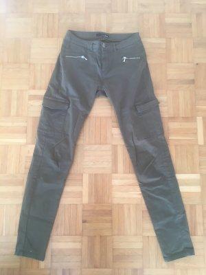 Etam Pantalone cargo cachi