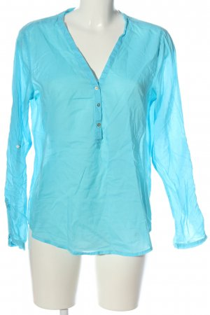 Etam Langarm-Bluse blau Casual-Look
