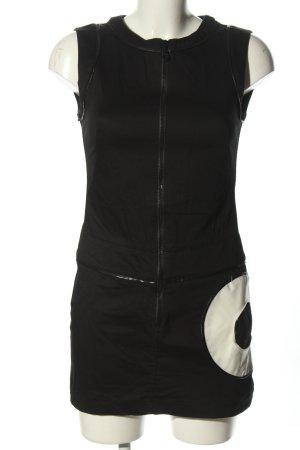Etam Mini Abito nero-bianco motivo grafico stile casual