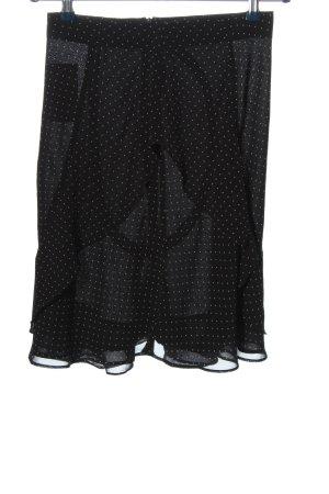 Etam Jupe superposée noir-blanc imprimé allover style décontracté