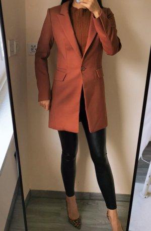 Etam super hochwertig Lang Wolle leicht Mantel Blazer Anzug