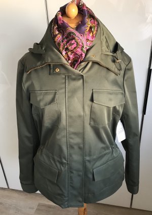 Etcetera Military Jacket green grey polyester