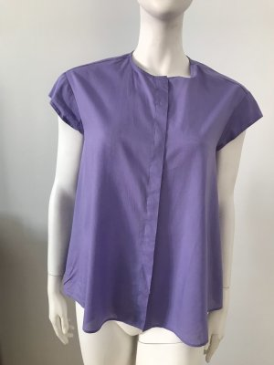 Eterna Blouse sans manche violet coton