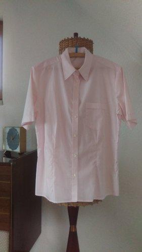 Eterna Camicia a maniche corte rosa chiaro Cotone