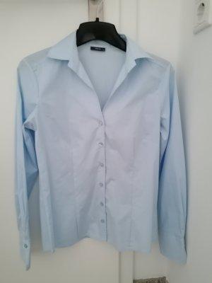 Eterna Bluse business blau XS 34 slim