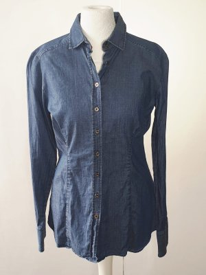 Eterna - Bluse - Jeans Style - Slim Fit - Gr. 38