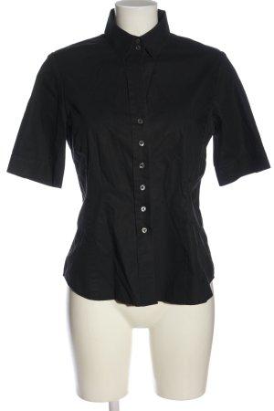 eterna excellent Koszula z krótkim rękawem czarny W stylu casual