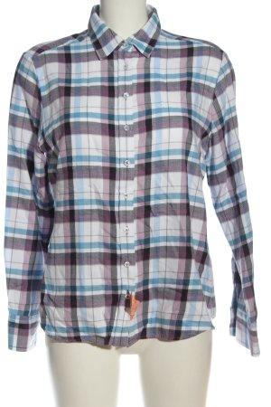 Eterna Camisa de franela estampado a cuadros look casual