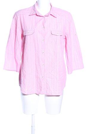 Eterna Hemd-Bluse pink Streifenmuster Business-Look